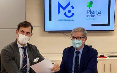 MWCC y Plena Inclusión Madrid se unen por la inclusión social de personas con discapacidad intelectual