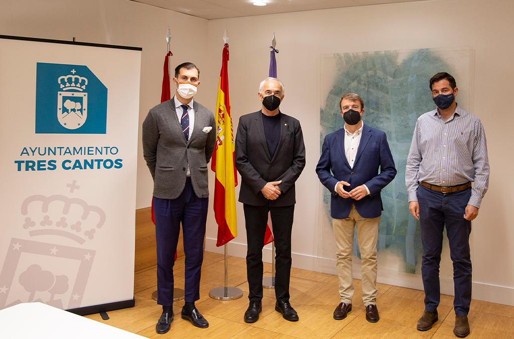 The Tres Cantos City Council and Fundación Metrópoli will collaborate in the planning and design of a model of the city of the future